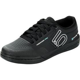 adidas Five Ten Freerider Pro Mountain Bike Shoes Women, core black/crystal white/acid mint